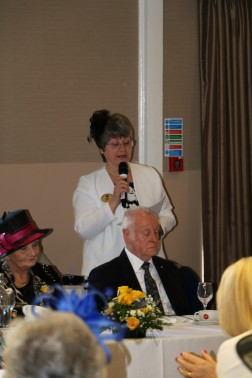Vote of thanks from Linda